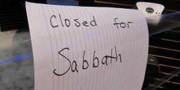 The Sabbath and the Work People Do for Us