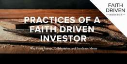 Practices of a Faith Driven Investor (Devotional)