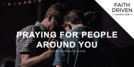 Praying for People Around You (Devotional)