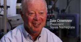 Texas Nameplate president Dale Crownover on Faith, Work and Quality (Video)