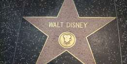 Walt Disney on Celebrity
