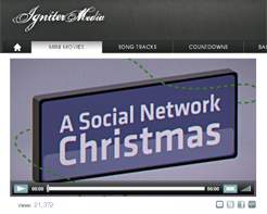 Video Feature: A Social Network Christmas